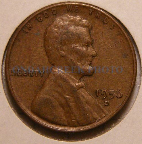 1956-D Lincoln Cent RPM #4 Stage C Very Fine