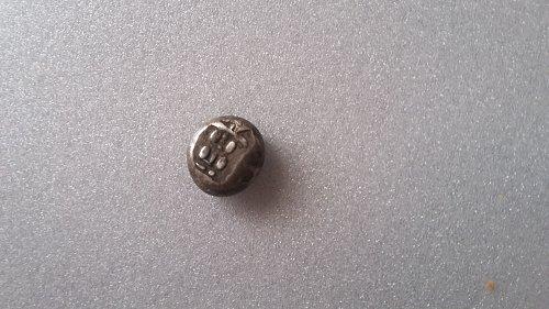 1714 Rare kyoho mameitagin Silver 0.800 fine 4.40 grams