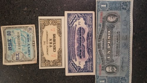 Japanese invasion money Rare