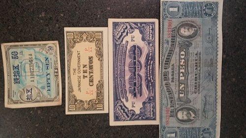 Japanese invasion money Rare