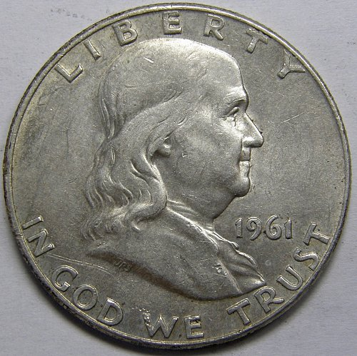 1961 D Franklin Half Dollar #5LE