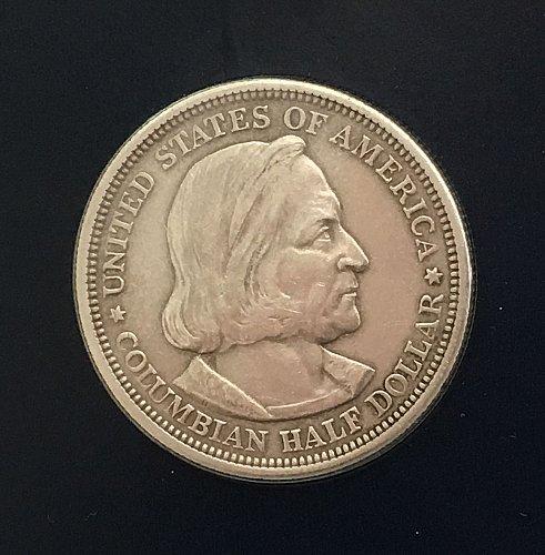 1892 World's Columbian Exposition Commemorative Half Dollar