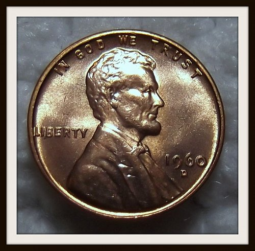 1960 - D Lincoln Memorial Cent (BU)