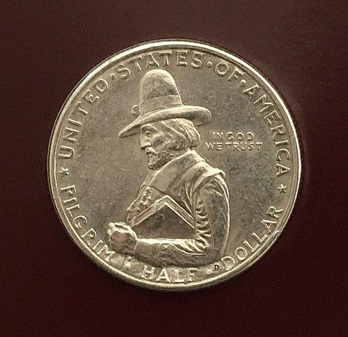 1920 Pilgrim Tercentenary Commemorative Half Dollar