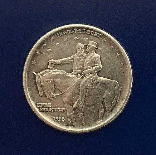 1925 Stone Mountain Memorial Commemorative Half Dollar