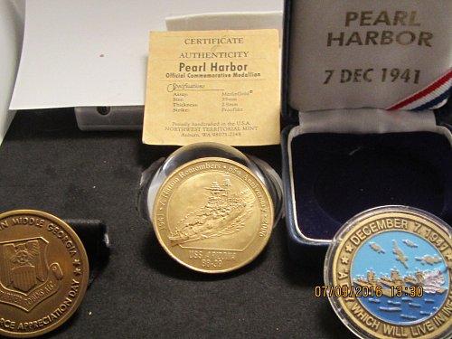 PEARL HARBOR 3 PIECE SET