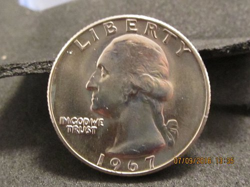 1967Washington quarter sorry 67
