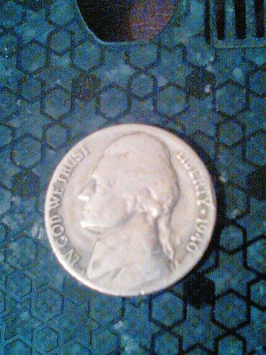 1940-S jefferson Nickel Double struck ERROR!