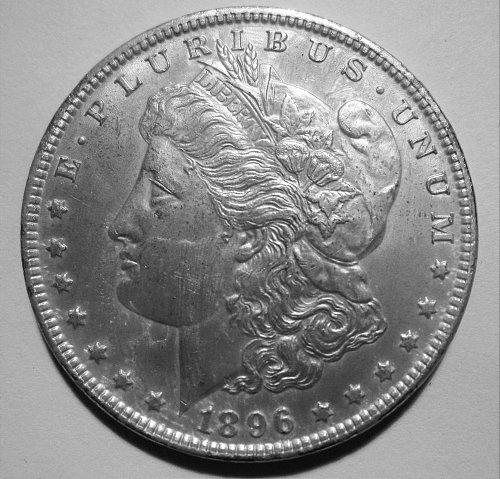 1896 P Morgan Dollar - UNC