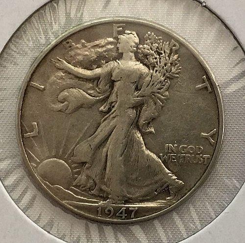 1947 P Walking Liberty Half Dollar