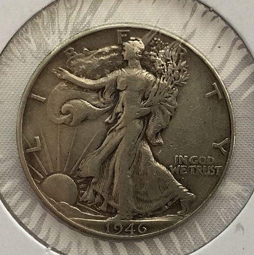 1946 P Walking Liberty Half Dollar