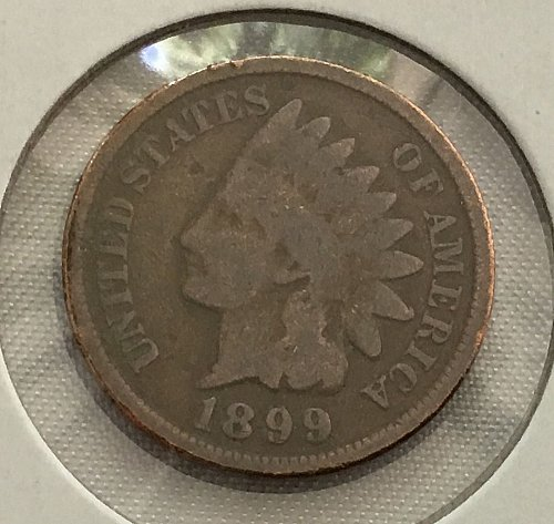 1899 P Indian Head Cent