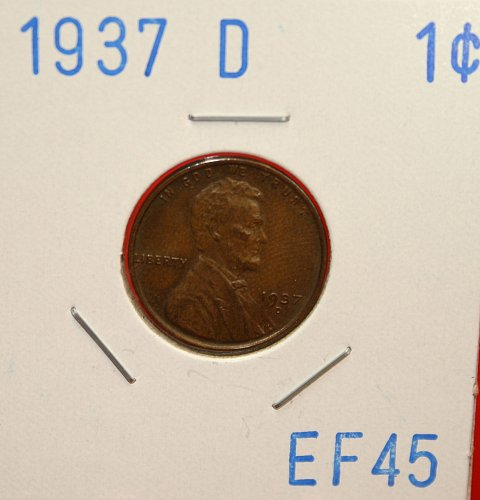 1937 D Lincoln Cent