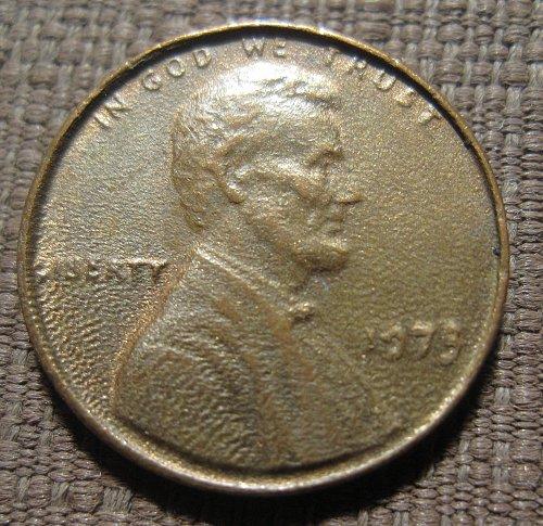 1973-P LINCOLN ERROR PENNY