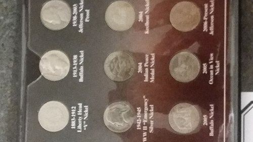 100 years of American nickels Super Rare