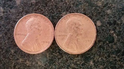 1909 v.d.b.and 1909 p  you get both coins