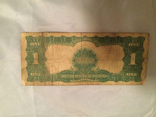 Eagle Silver Certificate 1899