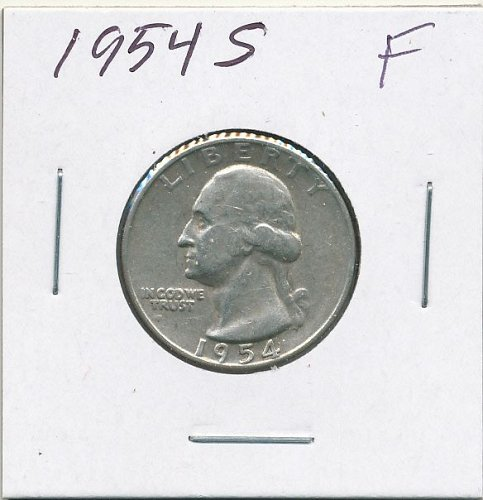 1954S a very nice circulated coin