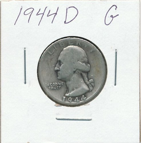 1944D  average circulated for era