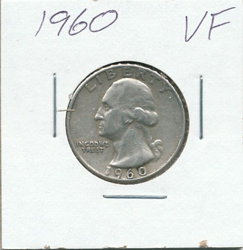 1960 very nice circulated coin