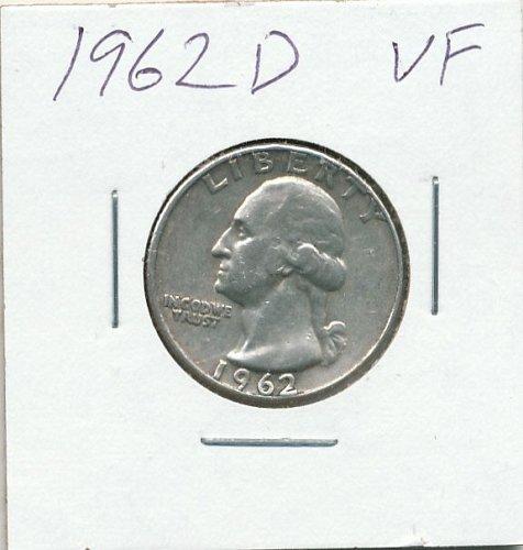 Very Fine 1962D Quarter