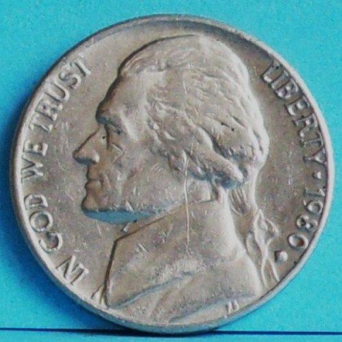 US America Nickel 5 Cents 1980 D km 192