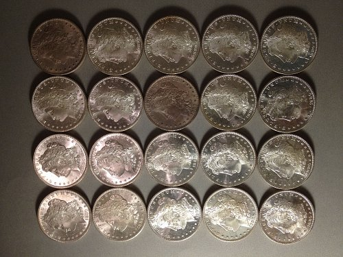 Invest in coins.  One uncirculated roll (20 coins) 1880-s Morgans silver dollars