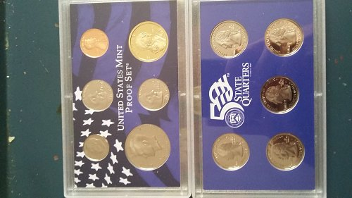 2005 United States 11 coin mint set