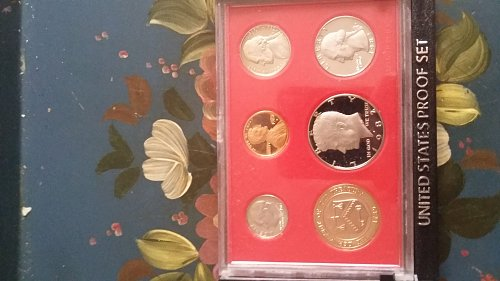 1982 United States proof 6 coin set. s marks on all coins.