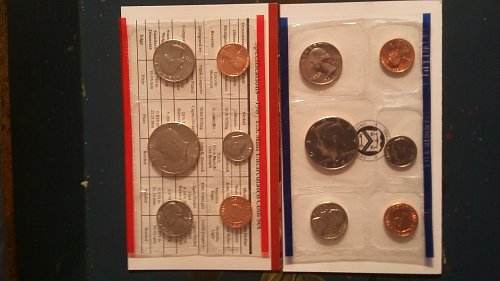 1987 2 set United States mint condition proof sets.