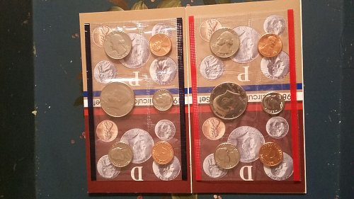 1984 uncirculated coin set mint condition.