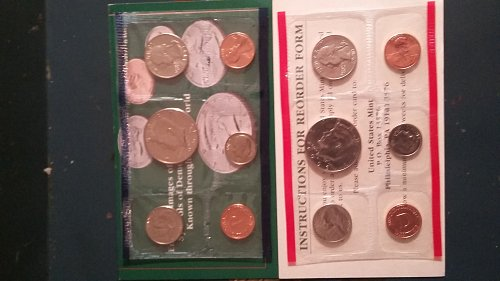 1993 uncirculated mint coin set