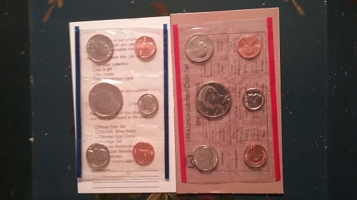 1984 uncirculated coin set.