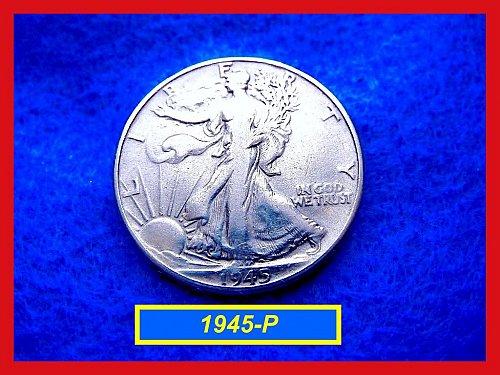 1945-P  Liberty Walking Half Dollar –––  (#1501)
