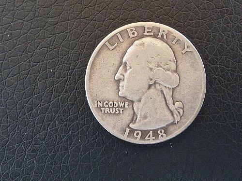 1948-D Washington Quarter