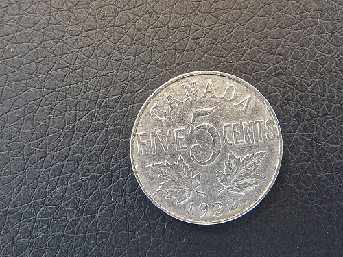 CANADA  1922  5  ceNts