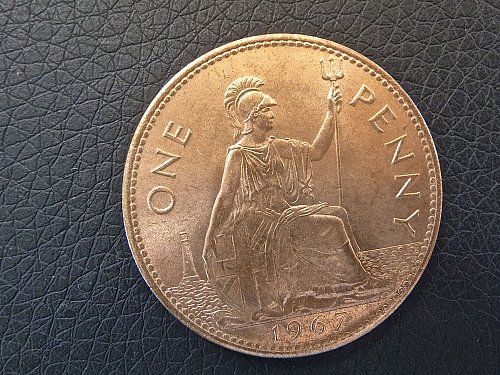 1967 Penny   Great Britain