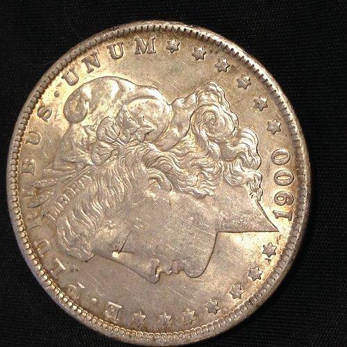 1900 XF Morgan Dollar