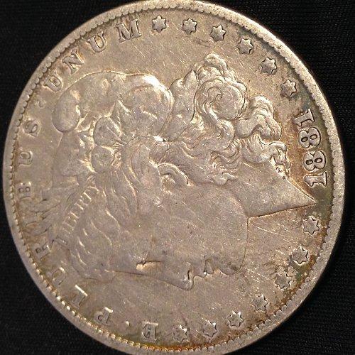 1881 VF Morgan Dollar