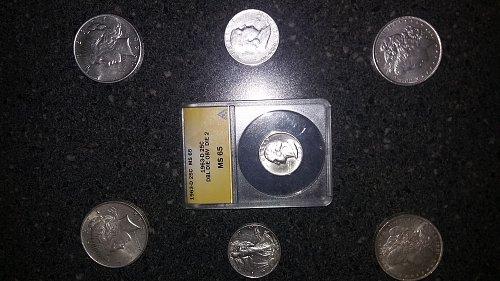 3 day Sale All Silver extra fine/AU /BU/MS65