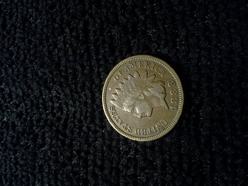 1888 INDIAN HEAD CENT PARTIAL/ FULL LIBERTY