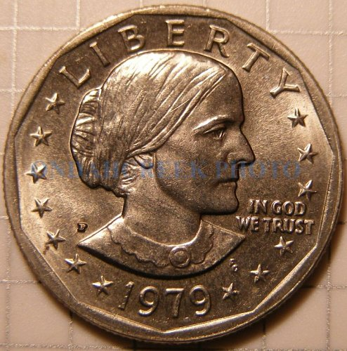 1979 Susan B Anthony Dollar CHBU Plus