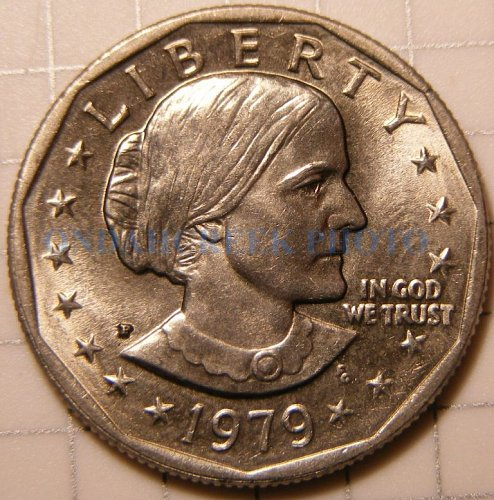 1979 Susan B Anthony Dollar CHBU Plus