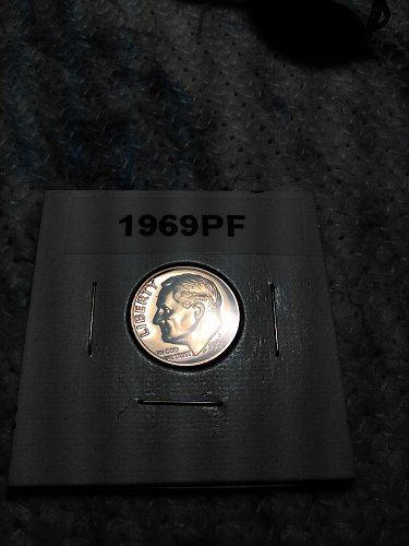 1969-S PROOF ROOSEVELT DIME