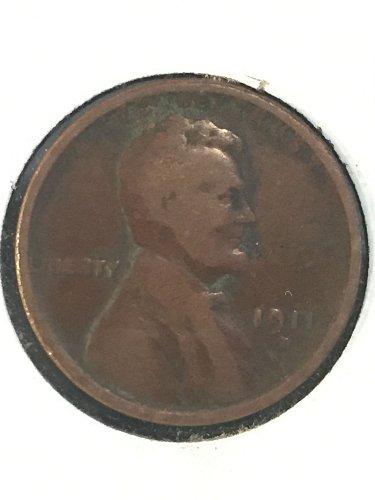 1911 D Wheat Cent