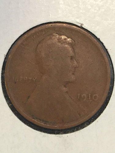 1910 P Wheat Cent