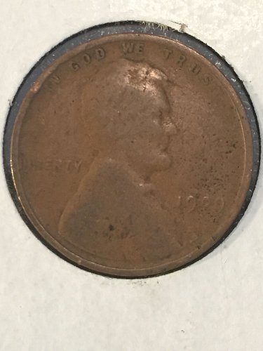 1909 P Wheat Cent