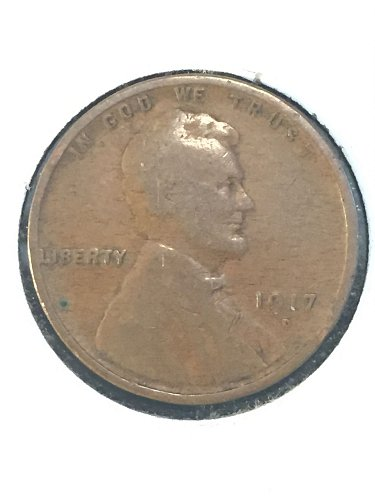 1917 D Wheat Cent
