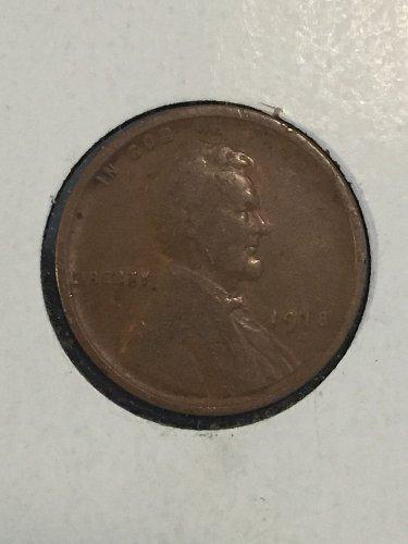 1918 D Wheat Cent