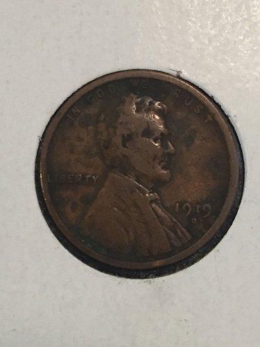 1919 D Wheat Cent